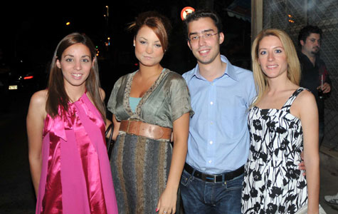 Μαρία, Γιολάντα, εγώ, Κατερίνα στο K44