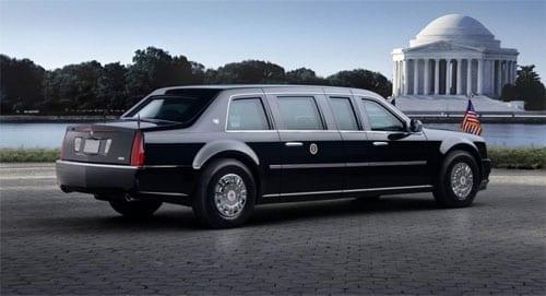 Barack Obama Cadillac limousine