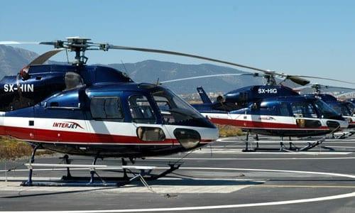 ελικόπτερο Interjet