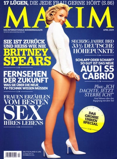 Britney Spears @ Maxim
