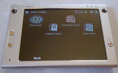 Windows Mobile 6.5 @ HTC X7500