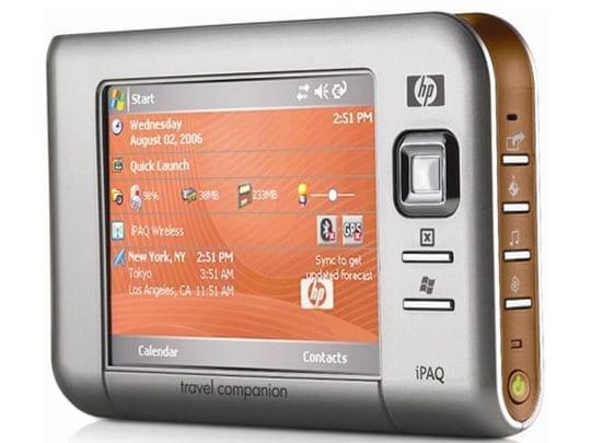 HP iPAQ RX5710 MLS Destinator 7