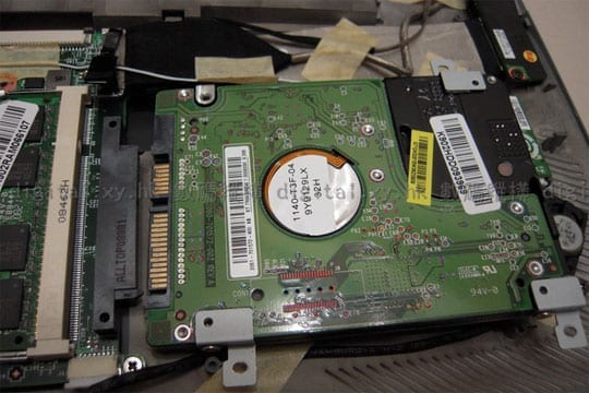 MSI X-Slim X340 HDD Onboard