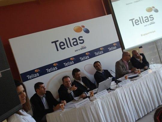 Στελέχη Wind & Tellas στη συνέντευξη τύπου