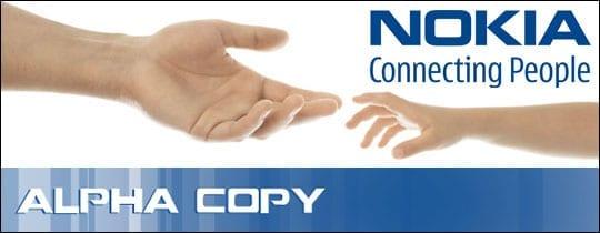 Alpha Copy, Nokia