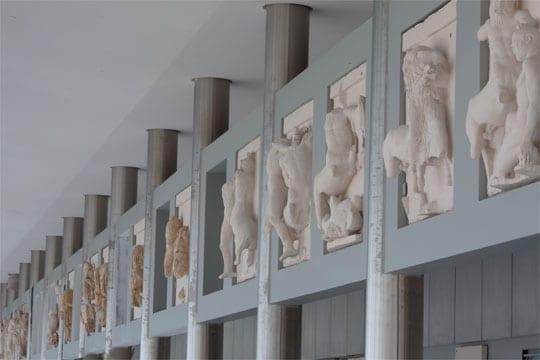 Όψη της Αίθουσας του Παρθενώνα - Credit Νίκος Δανιηλίδης