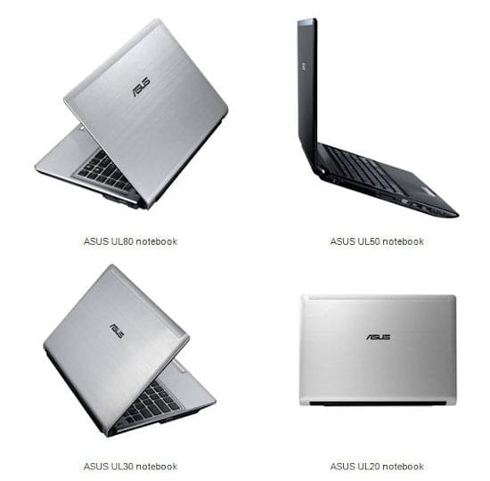Asus UL Notebooks