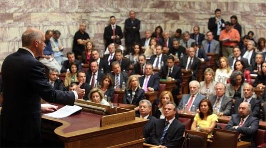 Γιώργος Παπανδρέου, Βουλή