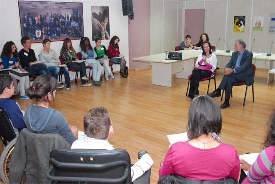 Συζήτηση Άννας Διαμαντοπούλου με μαθητές