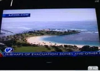 Hawaii Tsunami Warning