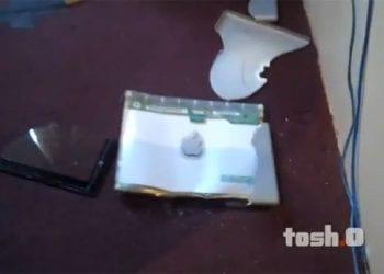 iPad, crash test