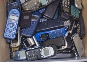 Κινητά τηλέφωνα για ανακύκλωση