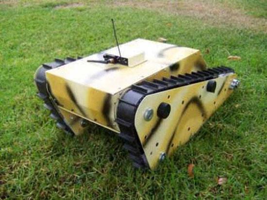 Ρομπότ-κάμερα για φύλαξη στα σύνορα