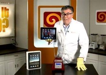 iPad. Will it blend?