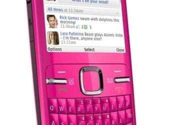 Nokia C3 Pink