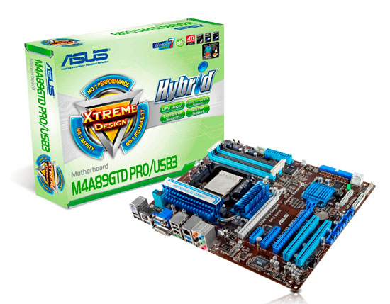 ASUS M4A89GTD PRO USB3 motherboard