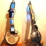 Κιθάρα από 1 iPod touch, 2 Android και 2 Windows smartphones!