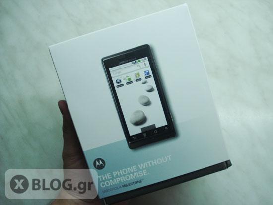 Motorola Milestone από την WIND