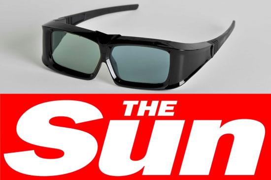 The Sun, 3D newspaper