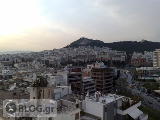 Athens View, Θέα από το Divani Caravel