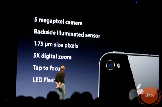 iPhone 4 Camera 5 Megapixel