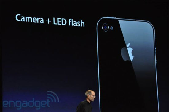 iPhone 4 Camera with LED flash