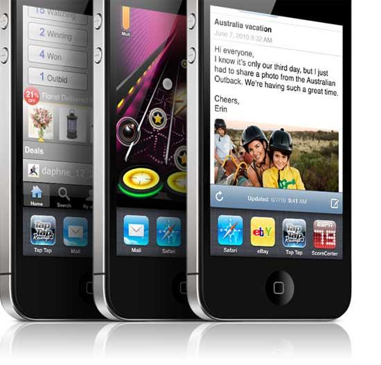 Σύγκριση iPhone 4 με άλλα smartphone