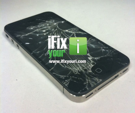 Σπασμένο iPhone 4