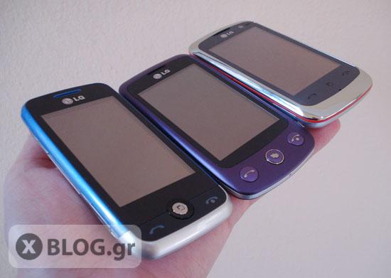 LG Cookie Fresh, LG Cookie Plus, LG Cookie Gig
