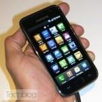 Samsung Galaxy S, πρώτη επαφή