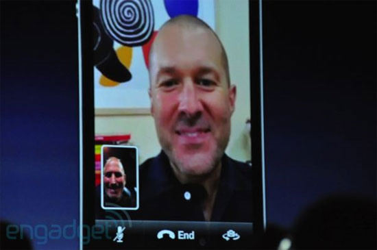 iPhone 4 Video Call
