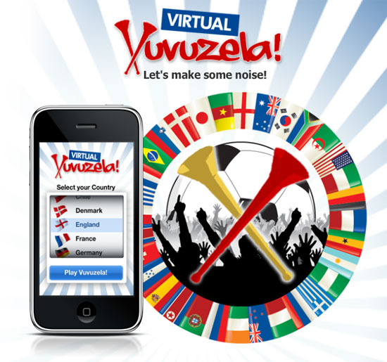 Vuvuzela iPhone App