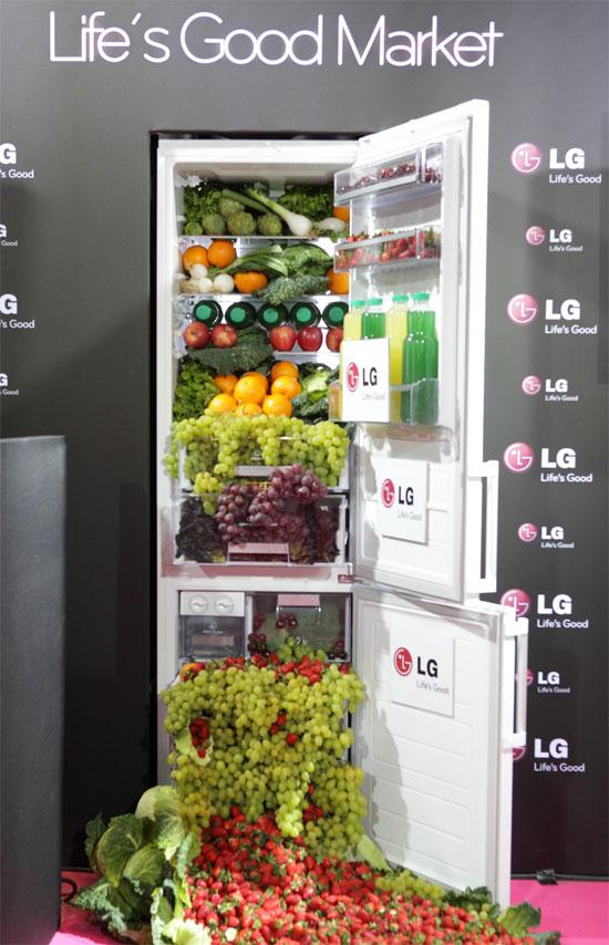 LG ψυγειοκαταψύκτες μεγάλης χωρητικότητας