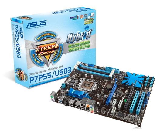 ASUS Motherboard P7P55/USB3