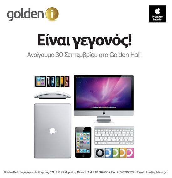 Golden i