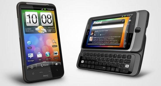 HTC Desire HD και HTC Desire Z