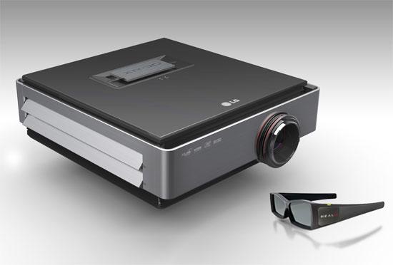 LG CF3D, Προβολέας Full HD 3D με μονό φακό