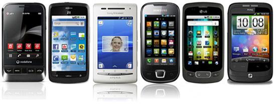 Φθηνά κινητά με λειτουργικό Android