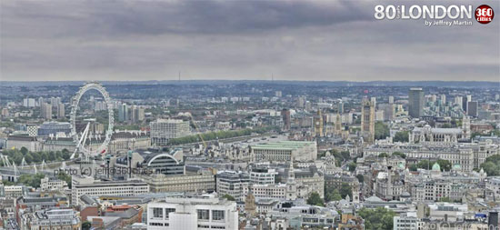 London 80 Gigapixels