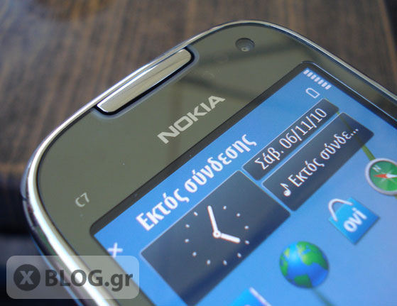 Nokia C7 hands on