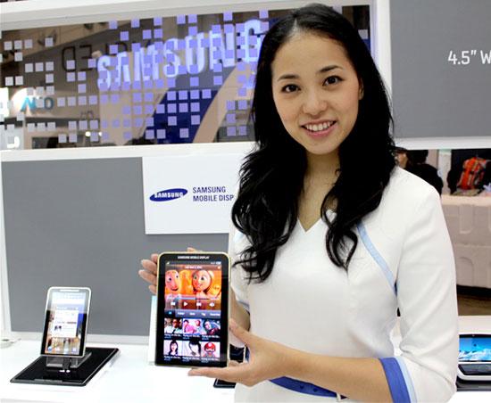 Samsung Galaxy Tab με νέα οθόνη AMOLED