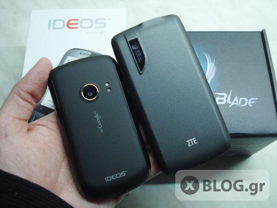 Huawei Ideos U8150 Vs ZTE Blade