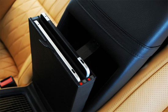 iCar Mercedes S600, Λιμουζίνα με iPad, Mac Mini, iPod touch, TFT οθόνες