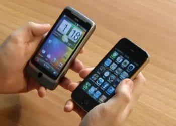 iPhone 4 Vs HTC Desire Z