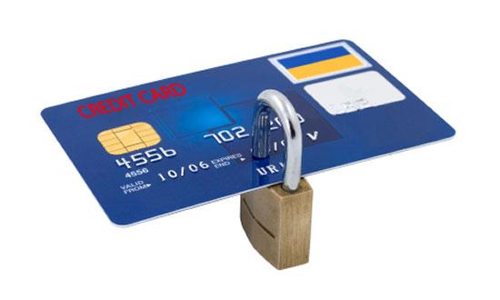 Ευαίσθητα δεδομένα, πιστωτικές κάρτες