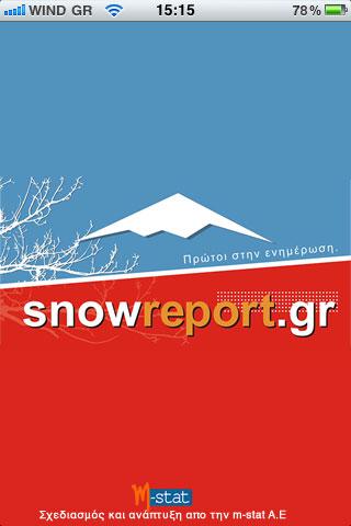 SnowReport iPhone iPad App