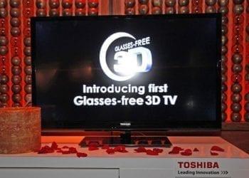Toshiba 3D TV χωρίς γυαλιά