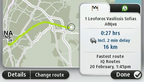 TomTom IQ Routes