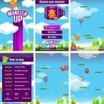 MonsterUp, Game για Windows Phone 7 smartphones