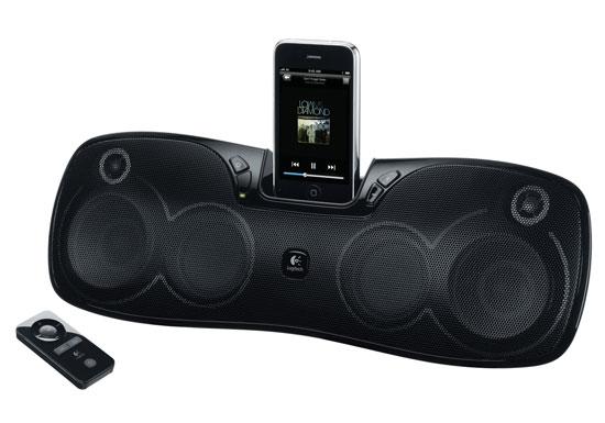 Επαναφορτιζόμενο ηχείο Logitech για iPhone/iPod